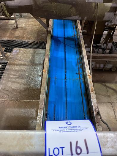Used Steel Conveyor Belt 8m L 0.55m W