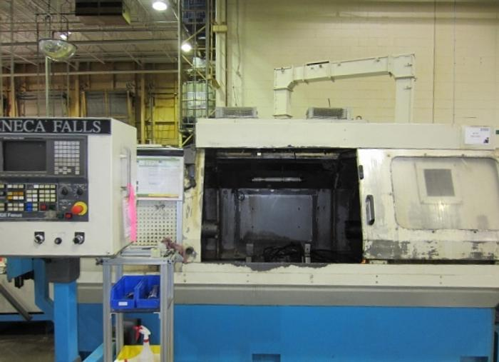 Seneca Falls Model EW-75 Facing & Centering Machine 5393
