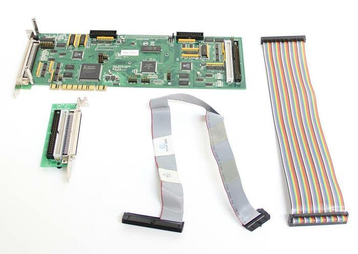 Used Galil Motion Control Board DMC-1870 Rev G & CB 50-100 Rev C & Cables (5556)