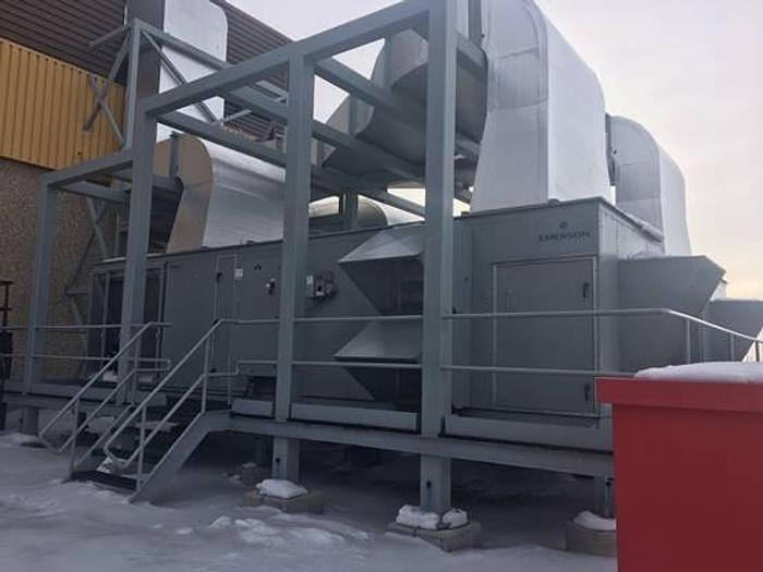 Two Emerson HVAC 60 ton AHU