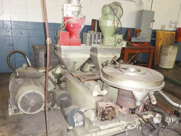 Used 45mm 2 Layer extrusion line