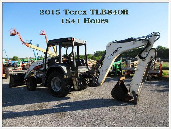 Used 2015 TEREX TLB840R DIESEL LOADER / BACKHOE 4 X 4, OROPS