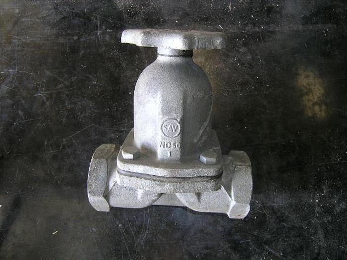 Used Steam valves, type SAV, 2″, ca. 15 pieces