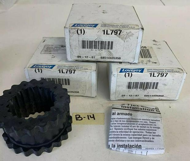 NEW LOVEJOY 1L797 SLEEVE COUPLING (LOT OF 3) FAST SHIPPING!