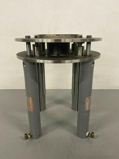 Used Lot of 4-Bimba Double Wall Pneumatic Cylinder DWC-1710-2 w/ Spring Lift Platform
