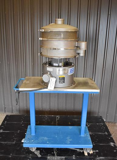 Used USED SWECO SCREEN, 18'' DIAMETER, STAINLESS STEEL, DOUBLE DECK