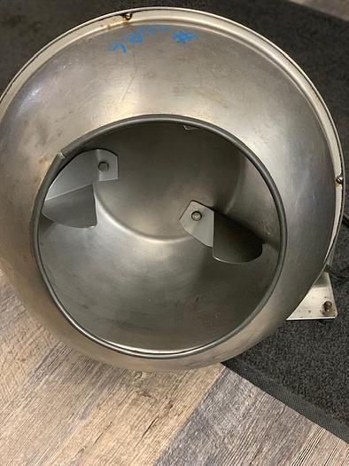 Used Stainless Steel Lab Size Coating / Mix Pan