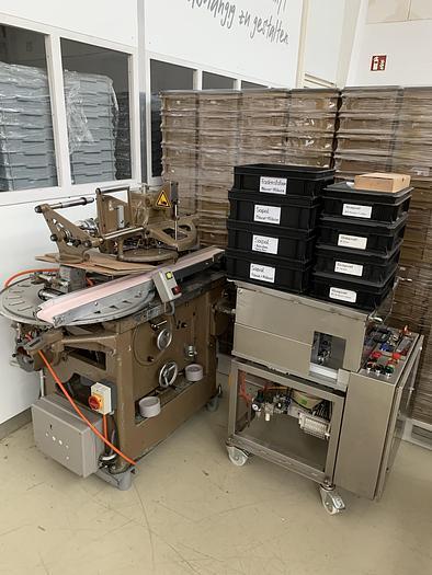 Gebraucht gebr. Stannioliermaschine SAPAL Type