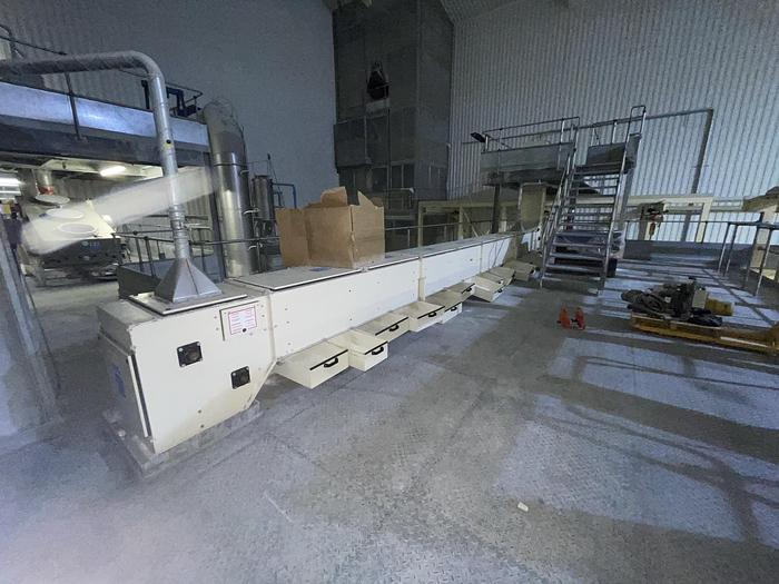 Used NERAK-WIESE NNP Bucket Elevator Conveyor