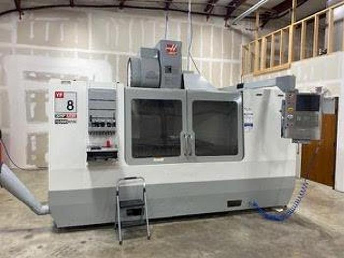 "Used 2006 HAAS VF 8 Vertical Machining Center, Table 36"" X 64"", X-64"", Y-40"", Z-30"", 20 HP, 10,000 RPM, HAAS CNC"