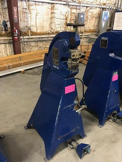Used Marchant Machine 6A pnuematic shrinker stretcher