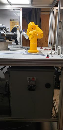 Used 2014 STAUBLI TX 40 UNIMATION ROBOTIC GRINDING CELL  TX 40 UNIMATION ROBOTIC GRINDING CELL
