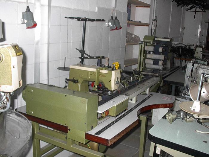 Gebraucht Näh-Kettelmaschine ARNDT  ARNDT-SYSTEM m. Rim.