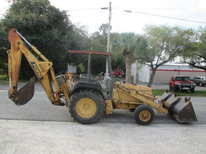 Used Ford 655C Tractor Loader Backhoe