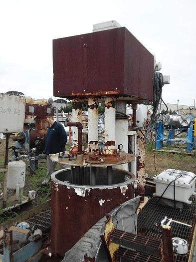 Used 100 GALLON ROSS TYPE VERSAMIX – S/S – VACUUM – JACKETED