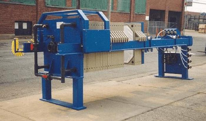50 CU. FT. 1200 MM FILTER PRESS WITH AUTOMATIC CLOSURE (NEW)