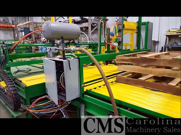 Used 2018 Universal Machinery Automatic Inline Nailing System