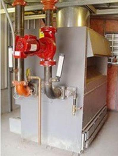 Used LAARs Gas-Fired Boiling System, 2 Million BTU, Piping