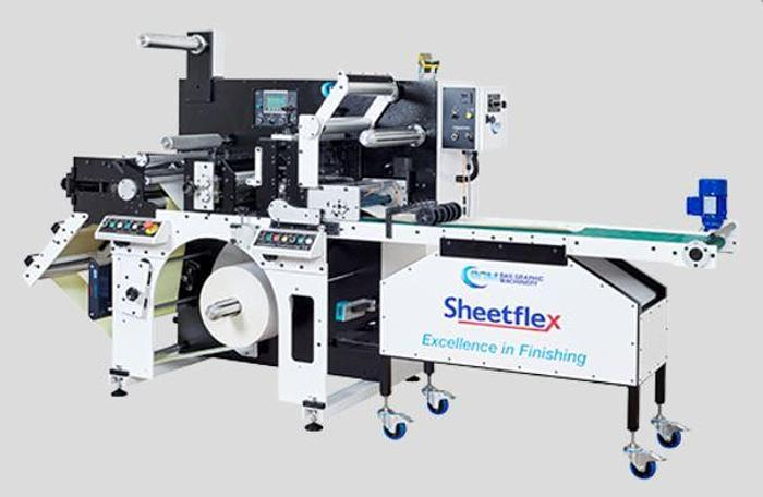 BGM Elite Sheetflex Easy Load Die and Top Load Sheeter Station and Delivery Table
