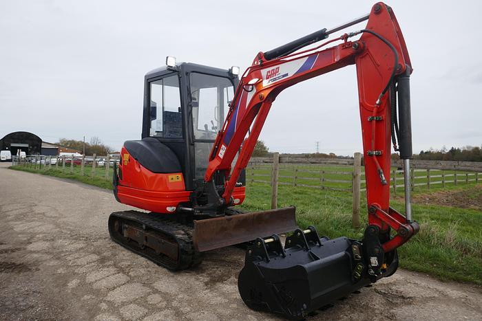 Used 2011 KUBOTA KX61-3