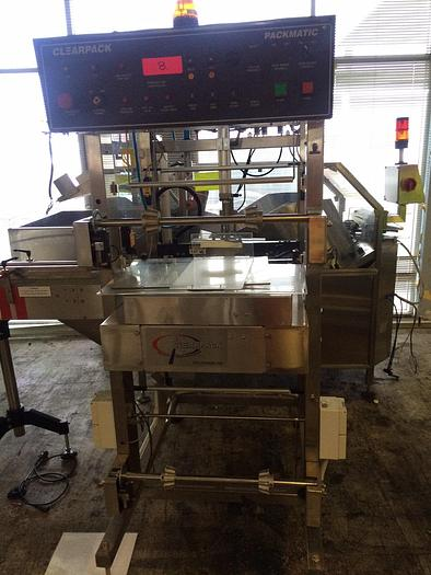 Used CLEARPACK-PACKMATIC 504SW25 Packaging