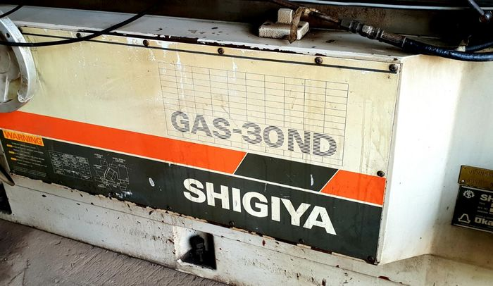 Shigiya GAS 30 ND CNC Angular Cylindrical Grinder