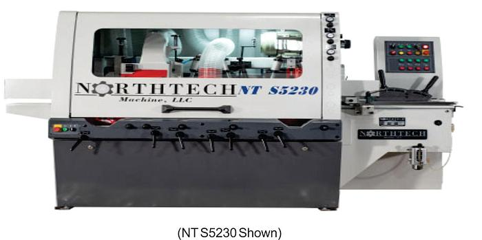Northtech NT S4230-1 Four Spindle Moulder