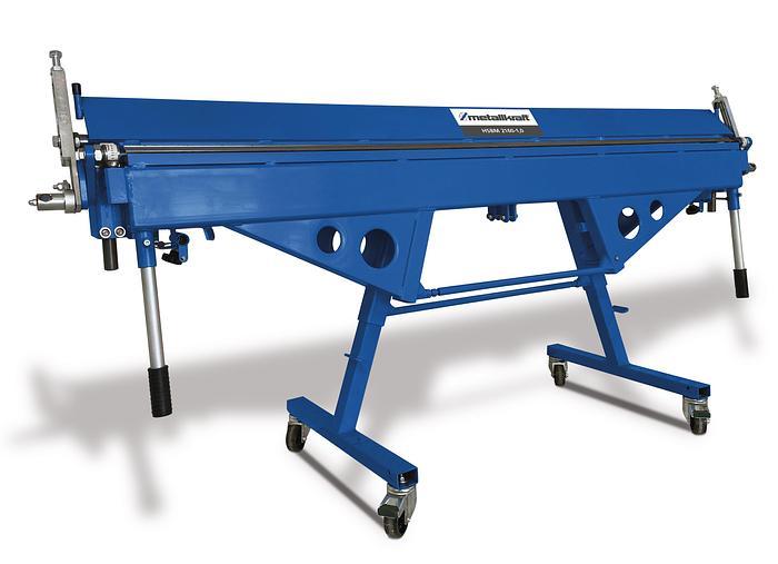 Gebraucht 2021 Metallkraft HSBM 2660x0,8, manuelle Hand Schwenkbiegemaschine mit abnehmbarer Rollschere