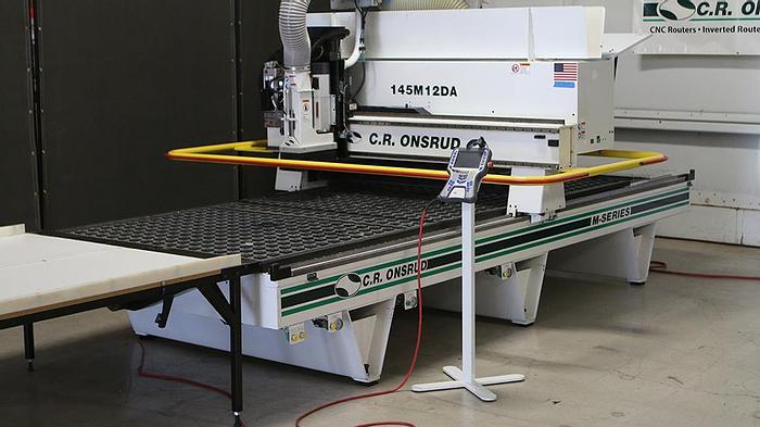 Used 2015 C.R. Onsrud 145M12DA M Series