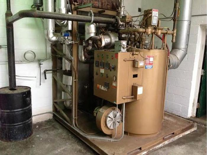 2007 Model FT-0160C Fulton Fuel-Fired Coil Design, Thermal Fluid Heater  FT-0160C