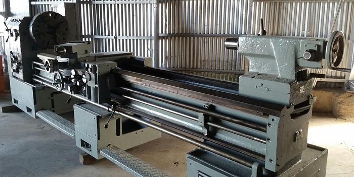 "24"" Sharp Model 24120K Heavy Duty Precision Lathe"