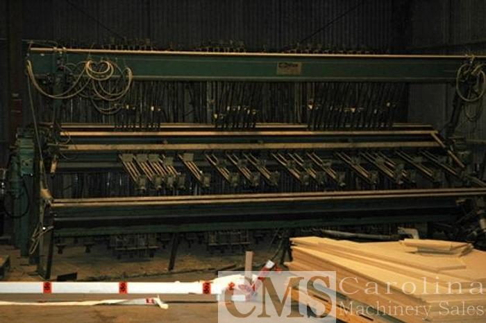 Used Taylor 15 Section Clamp Carrier