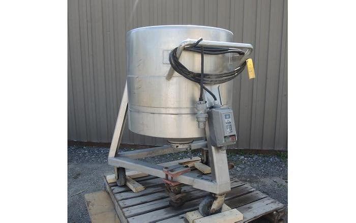 USED 70 GALLON TANK, STAINLESS STEEL