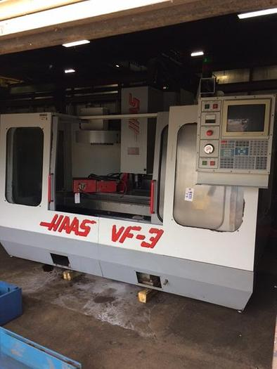 HAAS VF3 CNC VMC W/ 4TH AXIS ROTARY