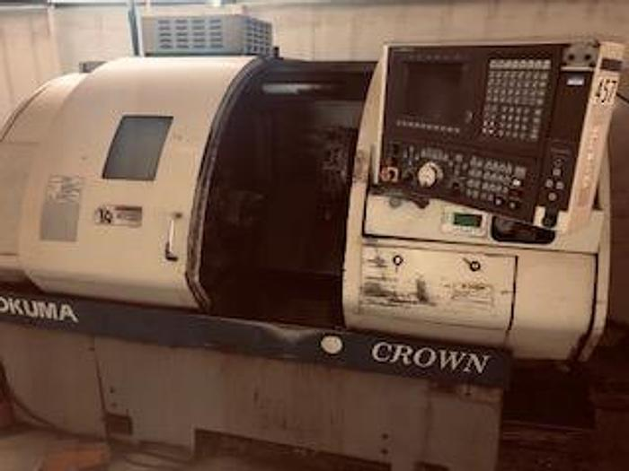 Used Okuma Crown CNC Lathe