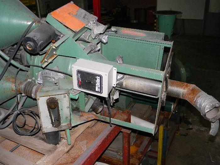 Used 3 component Process Control volumetric blender with center mixer