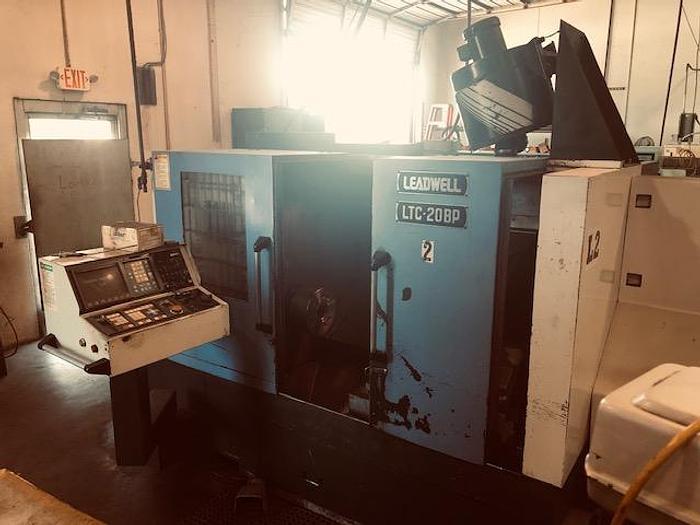 Used 1996 Leadwell LTC-20BP CNC Lathe - Fanuc Control