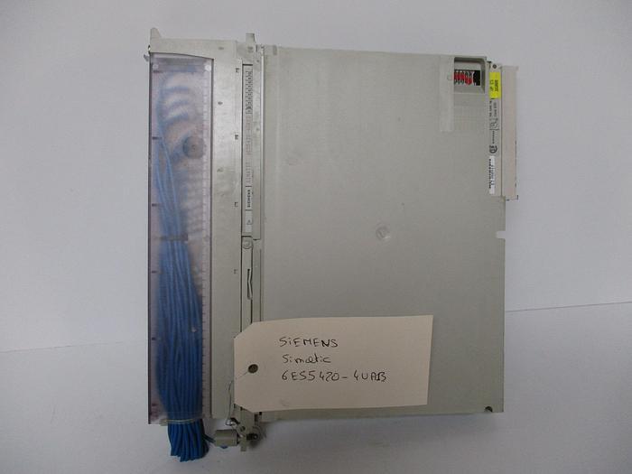 Used Siemens SIMATIC 6ES5441-4UA13