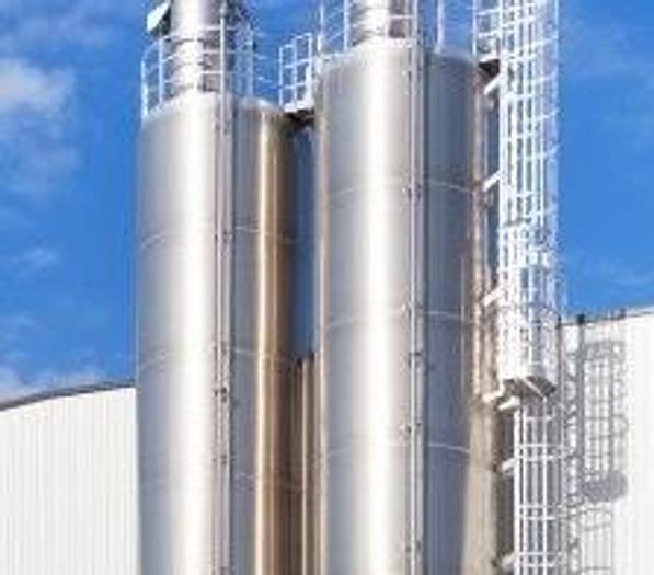 Usata Silos in lega di alluminio, MANN+HUMMEL Anlagentechnik