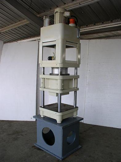 80 Ton Fisher / Precision 4 Post Hyd. Press; Down Acting Type; Mfg. 2000;