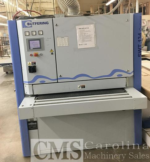 Used 2014 Butfering SWT 134 3-Head Sander