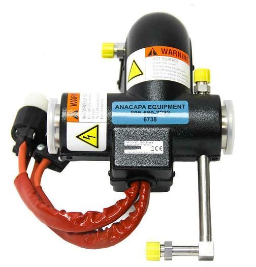 Inficon AG, LI-9496 Balzers Heated Weldment TEE-KF40, 208V(2ph), NEW (6738)W