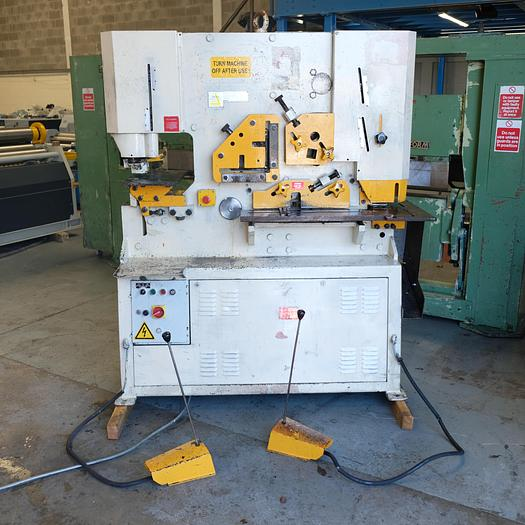 Used Geka 70 ton  HYDRACROP HYD -70  Ton 2 Cylinder steelworker