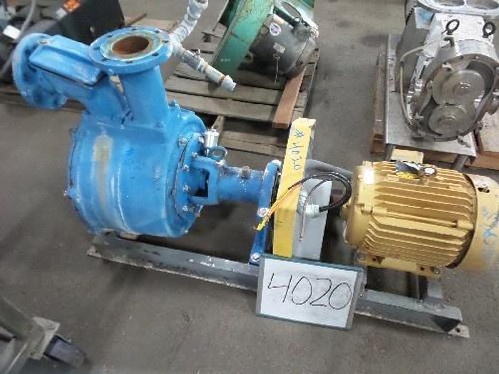 Used Crane 4'' x 4'' Trash Pump