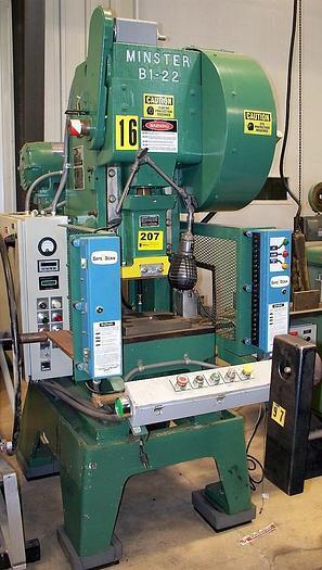 Used Minster Mechanical Press 131-22