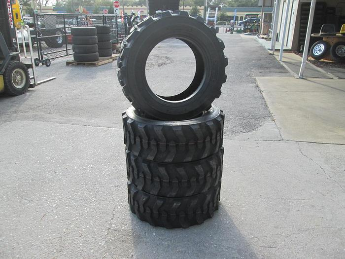 Road Warrior Skid Steer Tires 10-16.5 (New)