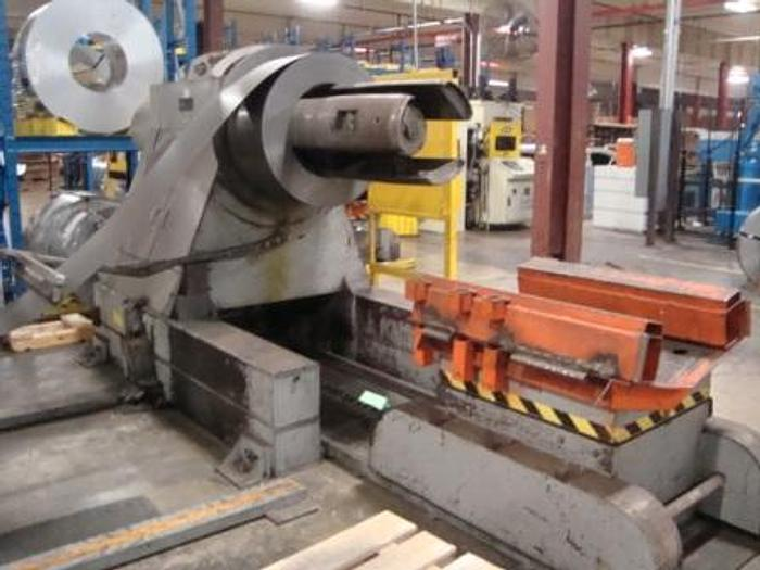 """Used 36"""" WIDE IOWA PRECISION MODEL FTS1436 CUT TO LENGTH LINE"""