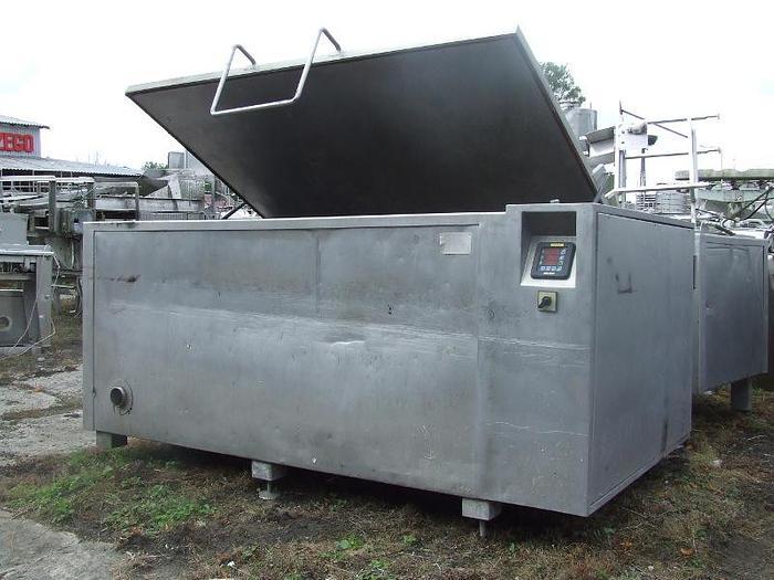 """Używane Kocioł warzelny pojmność 2000 l, w całości wykonany ze stali nierdzewnej, produkcji """"Karpowicz"""""""