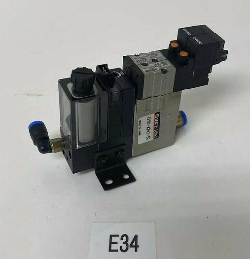 Used SMC Model: ZX100-K35LZ-EC Vacuum Switch with VJ324M and VJ314 Solenoids Warranty