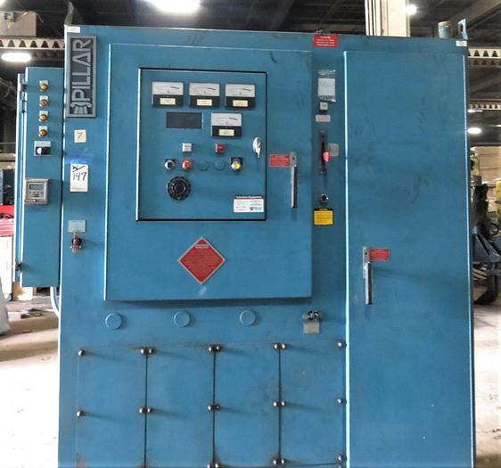 PILLAR MK8 600 LB INDUCTION MELTING FURNACE (on hold)